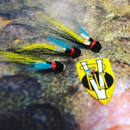 Tungsten Conehead Sheep Salmon Tube Flies