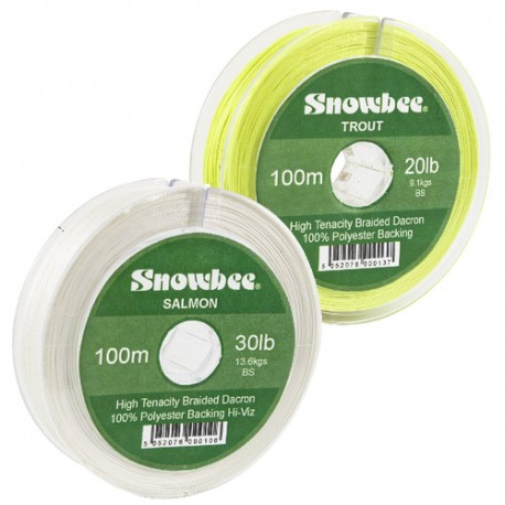 Snowbee Braided Dacron Backing Line