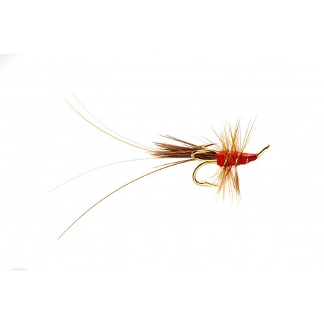 VFly Red Francis Salmon Treble