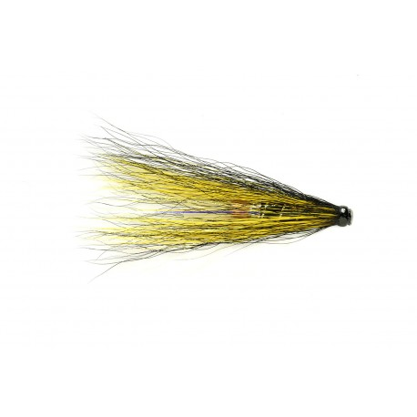 V Fly Black And Yellow Brass Tube Fly