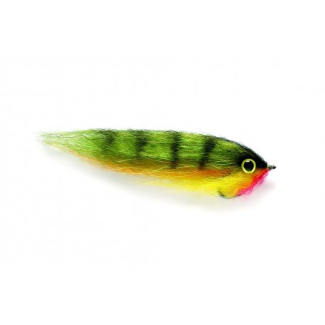 V Fly Yellow Pearl Bait Fish Predator Saltwater Fly