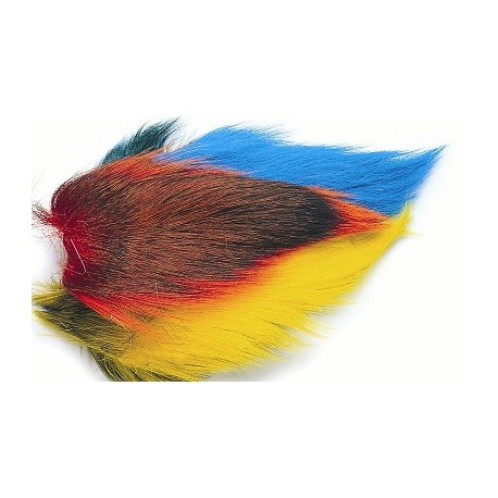 V Fly Bucktail Mixed Colours